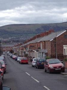 Belfastilaista townhouse-mattoa